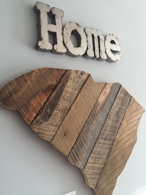 Home SC barnwood sign